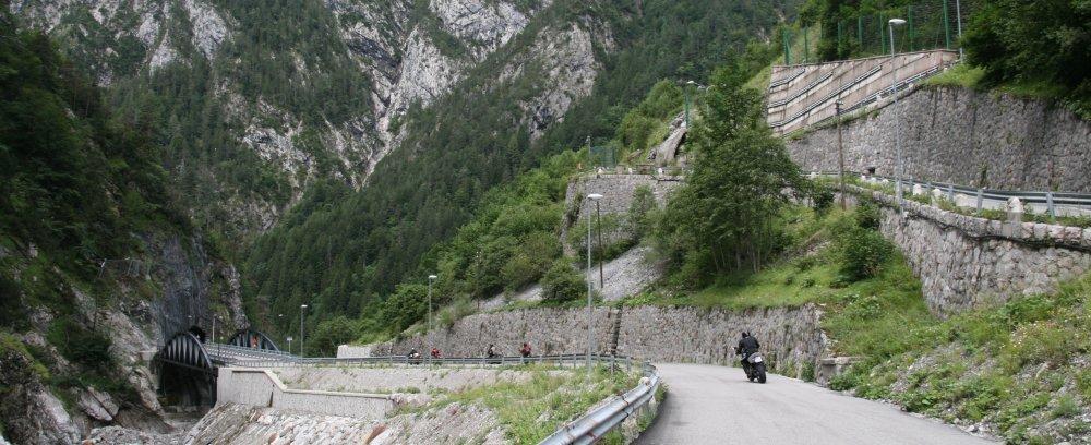 2008-07-18 Urlaub 4700a1000 Nassfeldpass 1530 m, Suedrampe